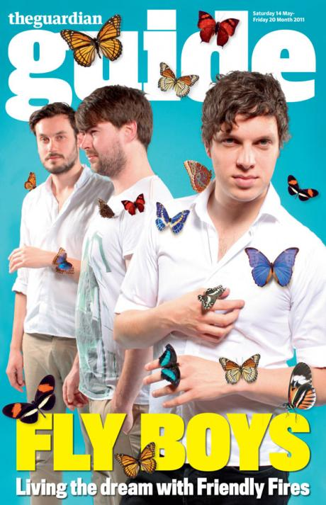 Band uses Heliconius for publicity